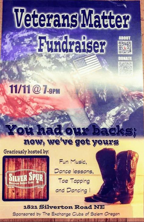 Salem Exchange Club 11/11@7 Poster