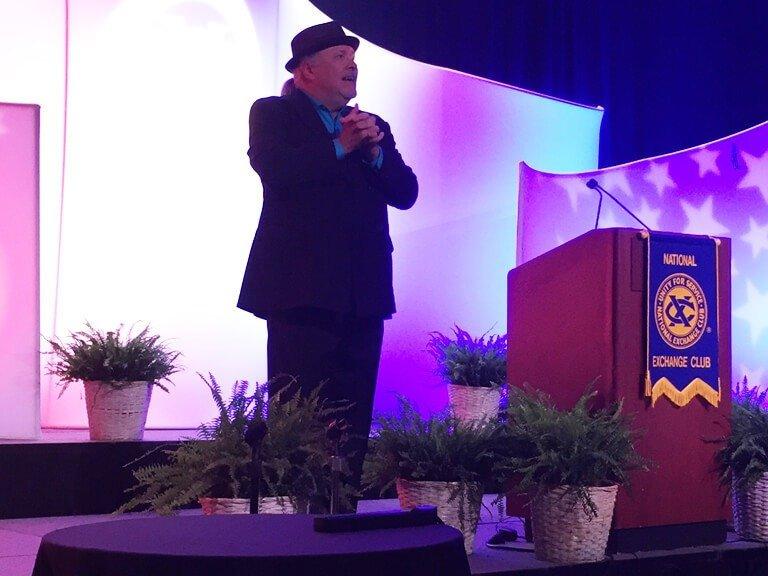 Ken Leslie speaking at the One Nation Under God luncheon