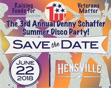 The 3rd Annual Denny Schaffer Summer Disco Party!
