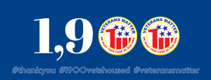 1900 Veterans Housed at Veterans Matter
