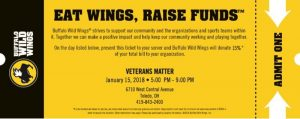 Buffalo Wild Wings | Veterans Matter