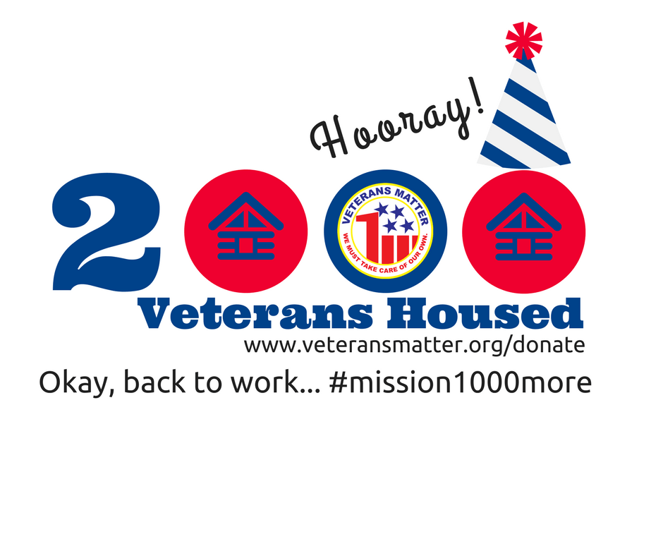 2000 Homeless Veterans Housed