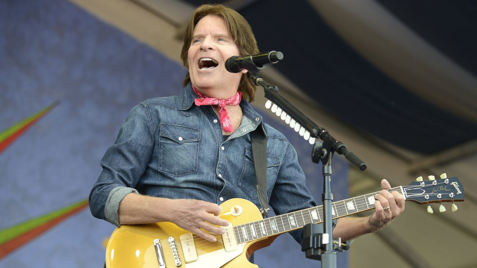 John Fogerty 50 years music support homeless veterans