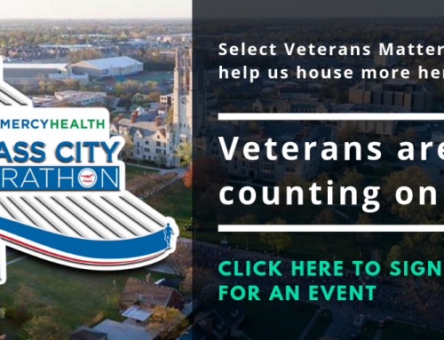 Run for Veterans in the Marathon