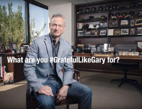 #GratefulLikeGary | In salute of Gary Sinise