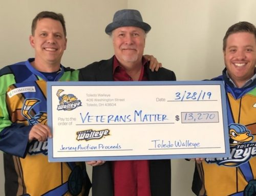 A-Gas and Toledo Walleye — Heroes to our Heroes