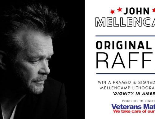 John Mellencamp 'Dignity in America' — Original Art Raffle to Benefit Veterans Matters