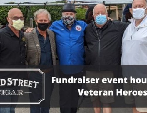 Third Street Cigar Fundraiser Event Houses 11 Veterans