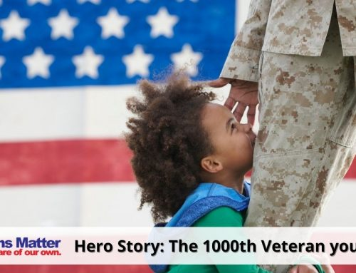 The 1000th Veteran you housed – February 2016