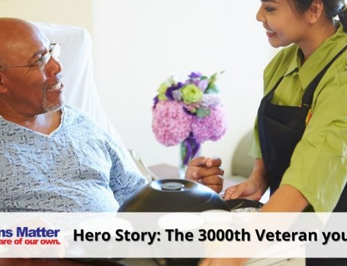 The 3000th Veteran you housed – July 2019