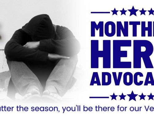 Become a Monthly Hero Advocate | Veterans Matter