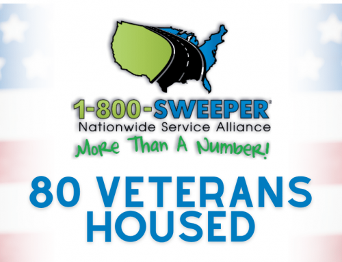 1-800-SWEEPER's 800-Challenge Campaign Houses 80 Homeless Veterans