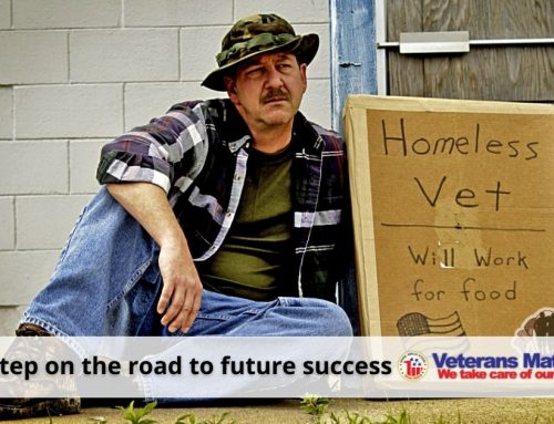Homeless Veterans' success nearly slips away – but then YOU came along!