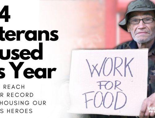 674 Veterans housed in 2021 so far | Many more still need help