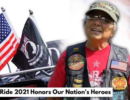 Honor Ride 2021 Houses 3 Veteran Heroes